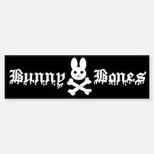 Bunny Bones Bumper Bumper Bumper Sticker