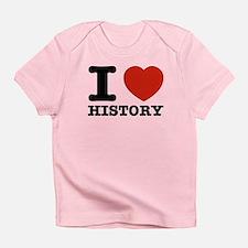 I heart History Infant T-Shirt