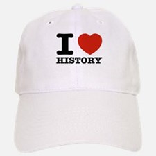 I heart History Baseball Baseball Cap