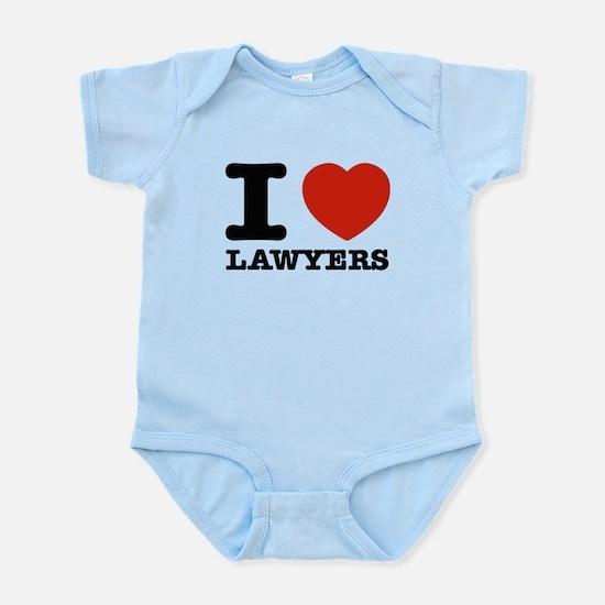 I heart Lawyers Infant Bodysuit