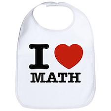 I heart Math Bib