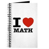 I love math Journals & Spiral Notebooks