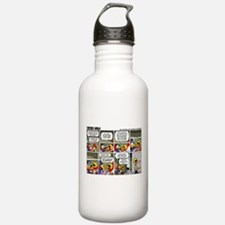 2L0067 - Helping clean the plane Water Bottle