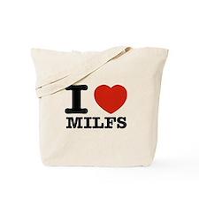 I heart Milfs Tote Bag