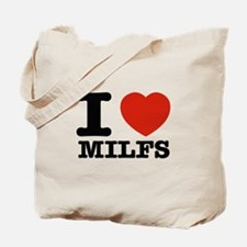 I heart Milfs Tote Bag