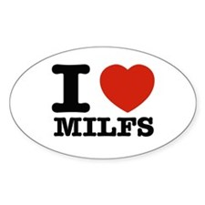 I heart Milfs Decal