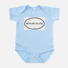 Westlake Village oval Infant Creeper