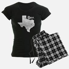 Doss, Texas. Vintage Pajamas