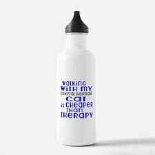 Walking With My Orient Sports Water Bottle