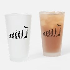 Commercial Pilot Drinking Glass