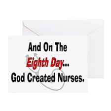 And on the eigth NURSES.PNG Greeting Card