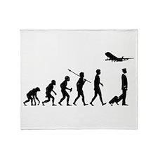 Commercial Pilot Throw Blanket