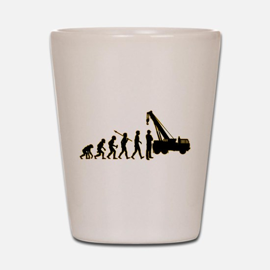 Crane Operator Shot Glass