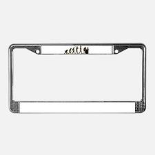 Customer Service Rep License Plate Frame