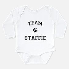 Team Staffie Long Sleeve Infant Bodysuit