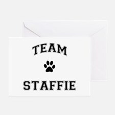 Team Staffie Greeting Cards (Pk of 20)