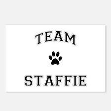 Team Staffie Postcards (Package of 8)