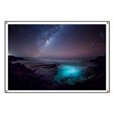 Milky Way over Southern Ocean Banner