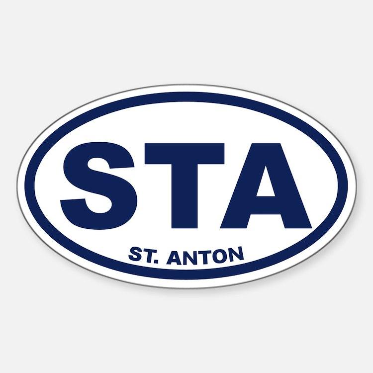St. Anton Decal
