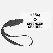 Team Springer Spaniel Luggage Tag