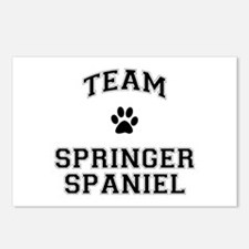Team Springer Spaniel Postcards (Package of 8)