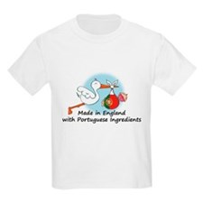Stork Baby Portugal England T-Shirt
