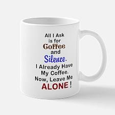 Coffee and Silence Mug