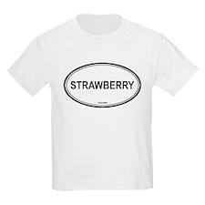 Strawberry oval Kids T-Shirt