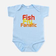 Fish Fry Fanatic Infant Bodysuit
