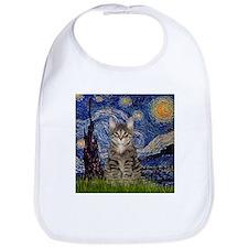 Starry Night & Tiger Cat Bib