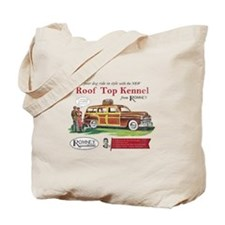 Vintage Romney Dog Tote Bag