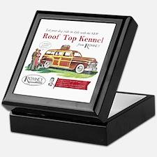 Vintage Romney Dog Keepsake Box