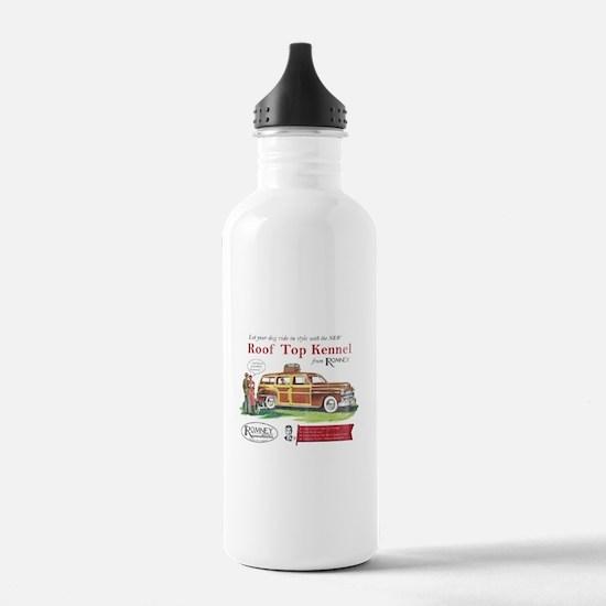 Vintage Romney Dog Water Bottle
