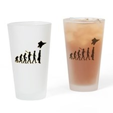Fighter Pilot Drinking Glass