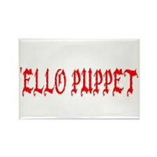 'Ello Puppet Rectangle Magnet (10 pack)