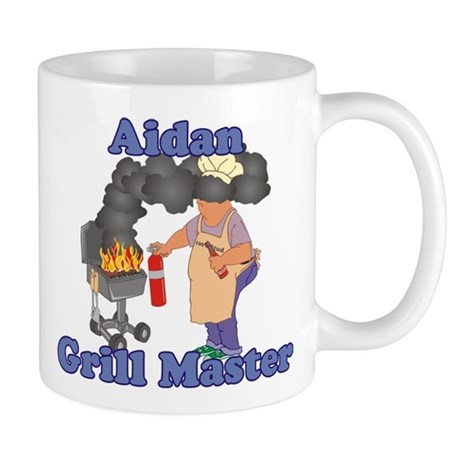 Grill Master Aidan Mug