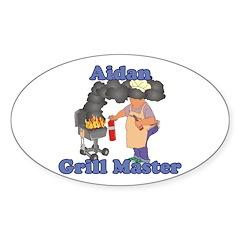 Grill Master Aidan Decal