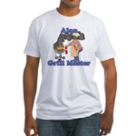 Grill Master Alan Fitted T-Shirt