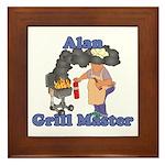 Grill Master Alan Framed Tile