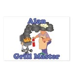Grill Master Alan Postcards (Package of 8)