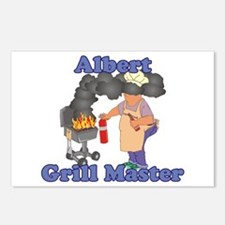 Grill Master Albert Postcards (Package of 8)