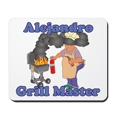 Grill Master Alejandro Mousepad