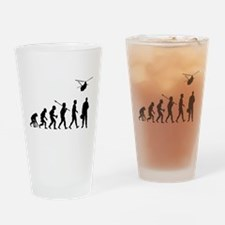 Helicopter Pilot Drinking Glass