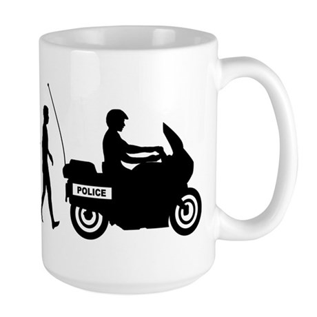 Highway Patrol Police Large Mug