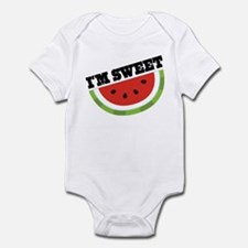 Watermelon I'm Sweet Infant Bodysuit