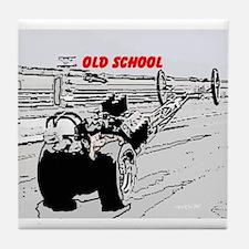 Old School1 Tile Coaster