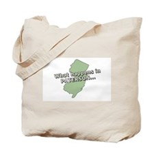 Paterson Zip Code 07501 Tote Bag