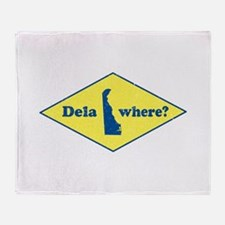 Vintage Delawhere? Throw Blanket