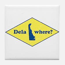 Vintage Delawhere? Tile Coaster