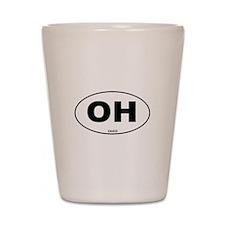 Ohio State Shot Glass